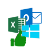 compatibile with Windows, Outlook and Excel editions